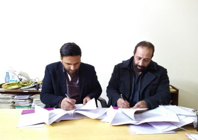 MOU Signing with VSO 1