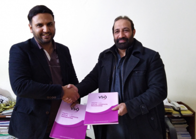 MOU Signing with VSO