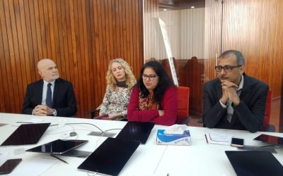 Meeting With UN Special rapporteur on Human rights defender & team of Parliamentarians Commission for Human Rights (PCHR)